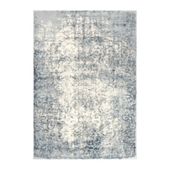 Clara Gray Distressed Medallion Area Rug, 5x8