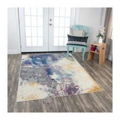 Multicolor Abstract Rothrock Area Rug, 8x10