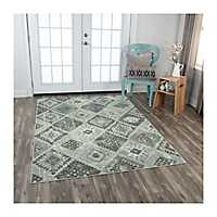 Gray Diamond Rothrock Area Rug, 5x8