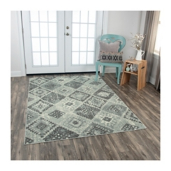 Gray Diamond Rothrock Area Rug, 8x10