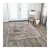 Brown Valeria Area Rug, 5x8