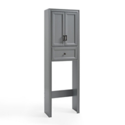 Tyler Vintage Gray Space Saver Cabinet