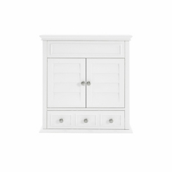 Lucas White Storage Wall Cabinet