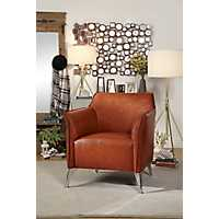 Brandy Brown Accent Chair
