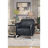Brandy Dark Gray Accent Chair
