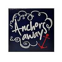 Anchors Away Canvas Art Print