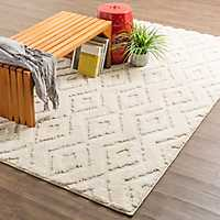 Cream Hampshire Area Rug, 8x10