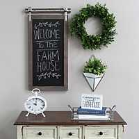 Sliding Farmhouse Chalkboard