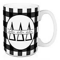 Delta Delta Delta Buffalo Check Mug