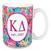 Kappa Delta Bright Floral Mug