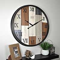Timberline Plank Wall Clock