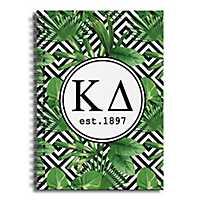 Kappa Delta Tropical Palms Spiral Notebook