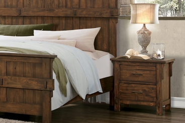 Isabella Burnished Oak Night Stand