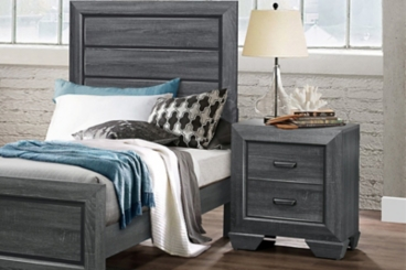 Bailey Gray Modern Night Stand