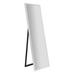 White Free Standing Cheval Mirror