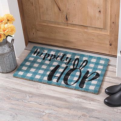 Hippity Hop Easter Doormat