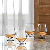 Gold Daphne Pinot Noir Wine Glasses, Set of 4
