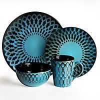 Blue Sicily 16-pc. Dinnerware Set