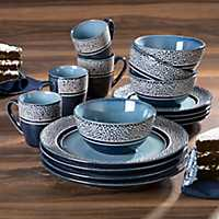 Blue Markham 16-pc. Dinnerware Set