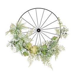 Air Plant Wheel Wreath