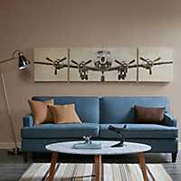 Flight Design Canvas Art Prints, Set of 3