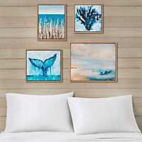 Seascape Multi-Sized Canvas Art Prints, Set of 4