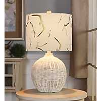 Natural Woven Rattan Table Lamp