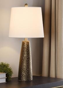 Bronze Hammered Table Lamp Kirklands
