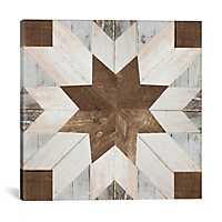 Barn Quilt I Canvas Art Print