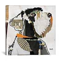 Schnauzer Canvas Art Print by Kroto Arts