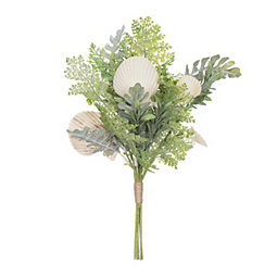 Seashell Greenery Floral Bouquet
