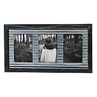 Vista Black 3-Opening Collage Frame