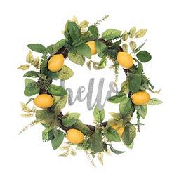 Lemon Hello Wreath