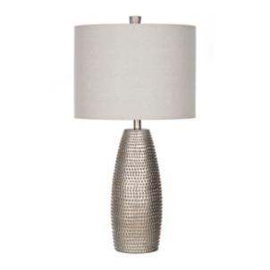 Metallic Gold Willow Hammered Table Lamp Kirklands