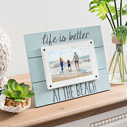 Life is Better at the Beach Picture Frame, 4x6