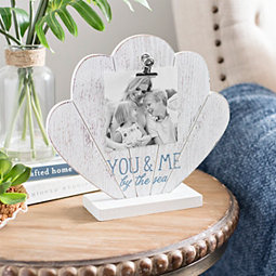 You and Me and The Sea Shell Picture Frame, 4x6