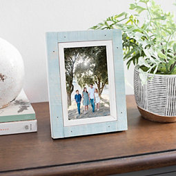 Teal Prinz Cottage Picture Frame, 4x6