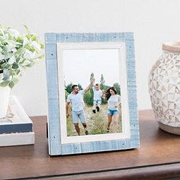 Blue Prinz Cottage Picture Frame, 5x7
