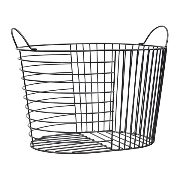 Black Bars Metal Basket
