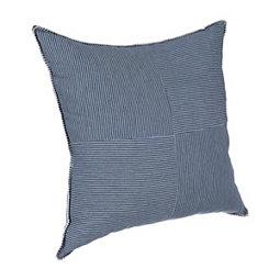 75f6d3dd832 Blue Quartered Pinstripe Pillow