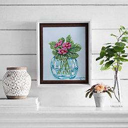 44b5df3fa80 February Flower of the Month Framed Art Print