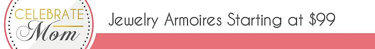Jewelry Armoires starting at $99