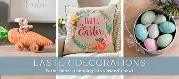 Easter Decorations - Easter decor is hopping into kirkland's now!