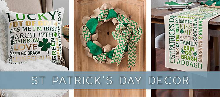 2018 St. Patrick's Day decor - Kirkland's has the decor to show off your luck of the Irish!