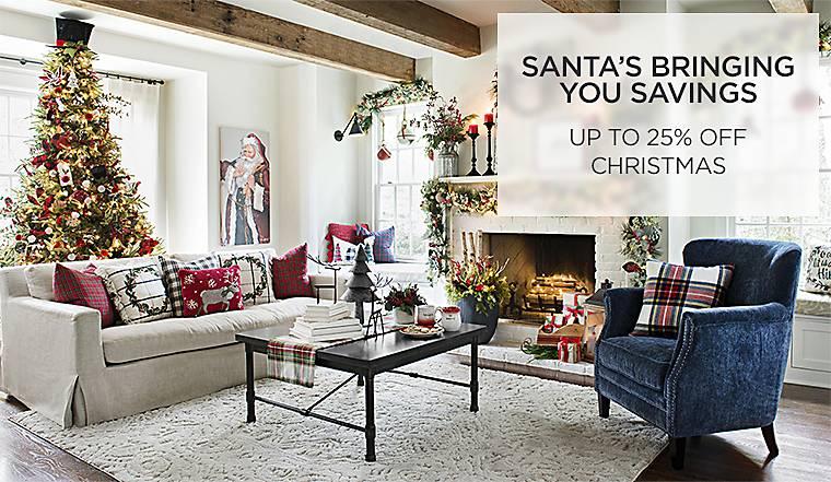 Santa's Bring You Savings - Up to 25% Off Christmas