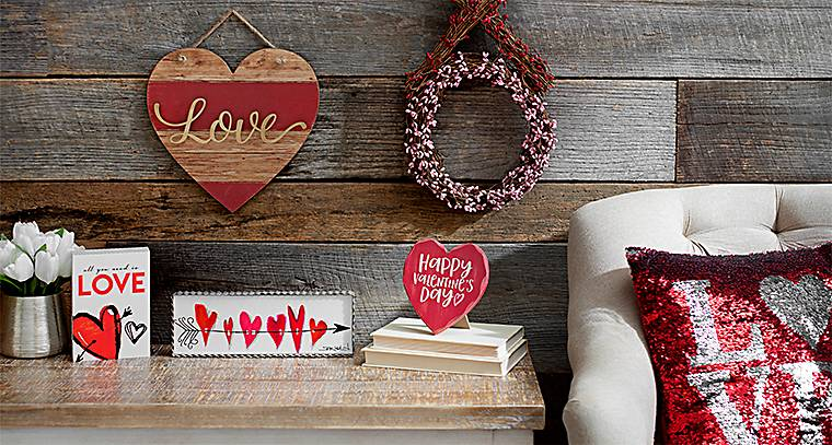 2018 Valentines Day Decorations