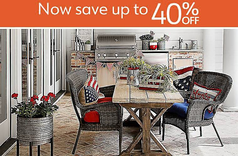 Now save up to 40% - Patriotic Decorations - Show off your pride in red, white and blue with patriotic decorations!