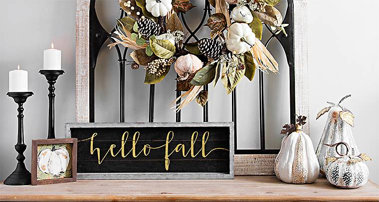 All Harvest Home Decor & Decorations