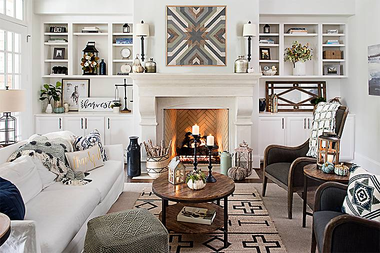 modern farmhouse decor - Modern Farmhouse Living Room