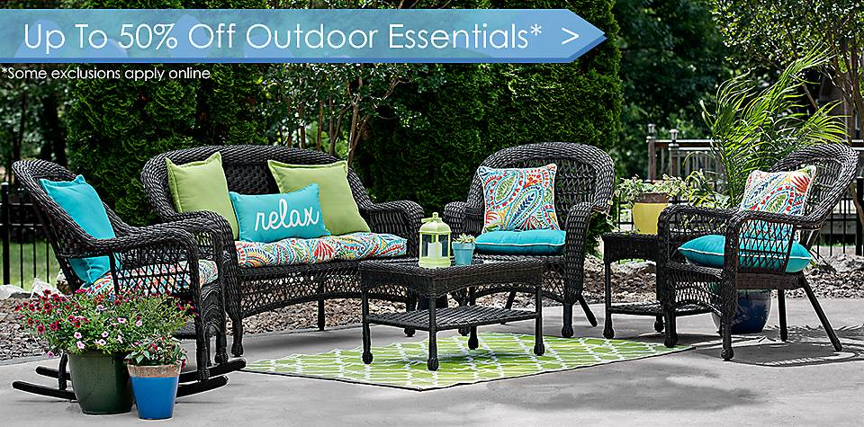 Up to 50% Off Outdoor Essentials